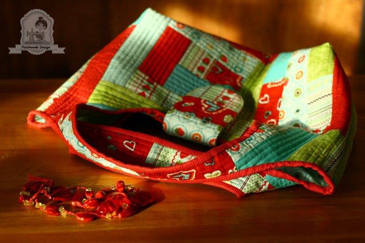 quilt-as-you-go táska piros__12